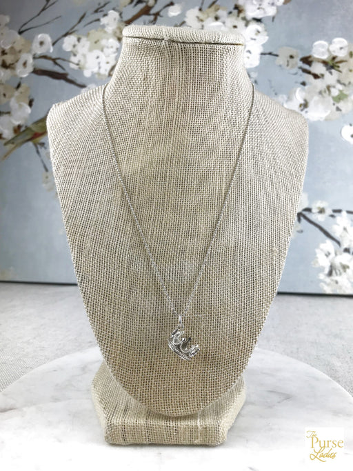 TIFFANY & CO. 925 Sterling Silver Crown Necklace