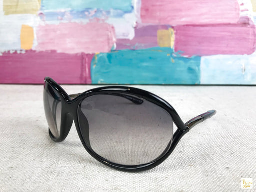 Tom Ford Black TF8 Jennifer Soft Square Sunglasses