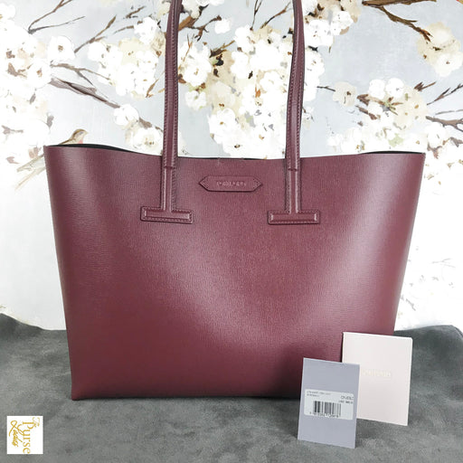 TOM FORD Maroon Red T Tote