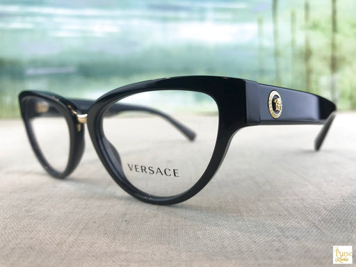 VERSACE 3267 Black Eyeglasses