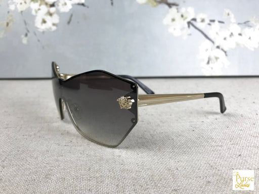 VERSACE MOD 2182 Gold Medusa Head Sunglasses