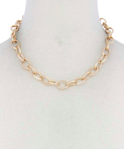 Choker Chunky Necklace