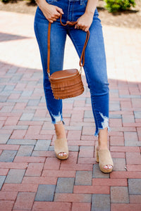 High Rise Ankle Skinny Denim