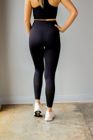 Burnout Mesh Legging