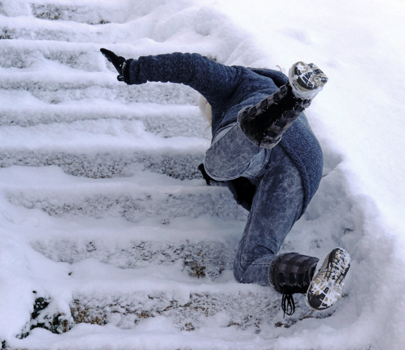 avoid winter slips and falls