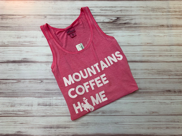 LWT MOUNTAIN COFFEE HOME TANK TOP