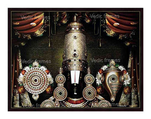 Lord Balaji thirumugam with sangu chakram