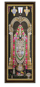 Lord Venkateshwara with Thiruman sangu chakram