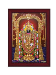 Lord Venkateshwara glow sand finish