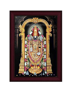 Lord Balaji with brown arch