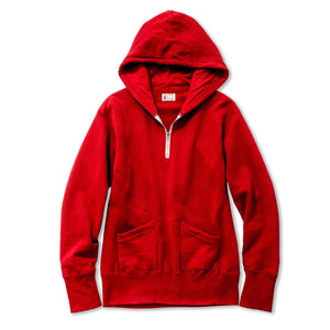 Hooded 1/4 Zip Sweatshirt