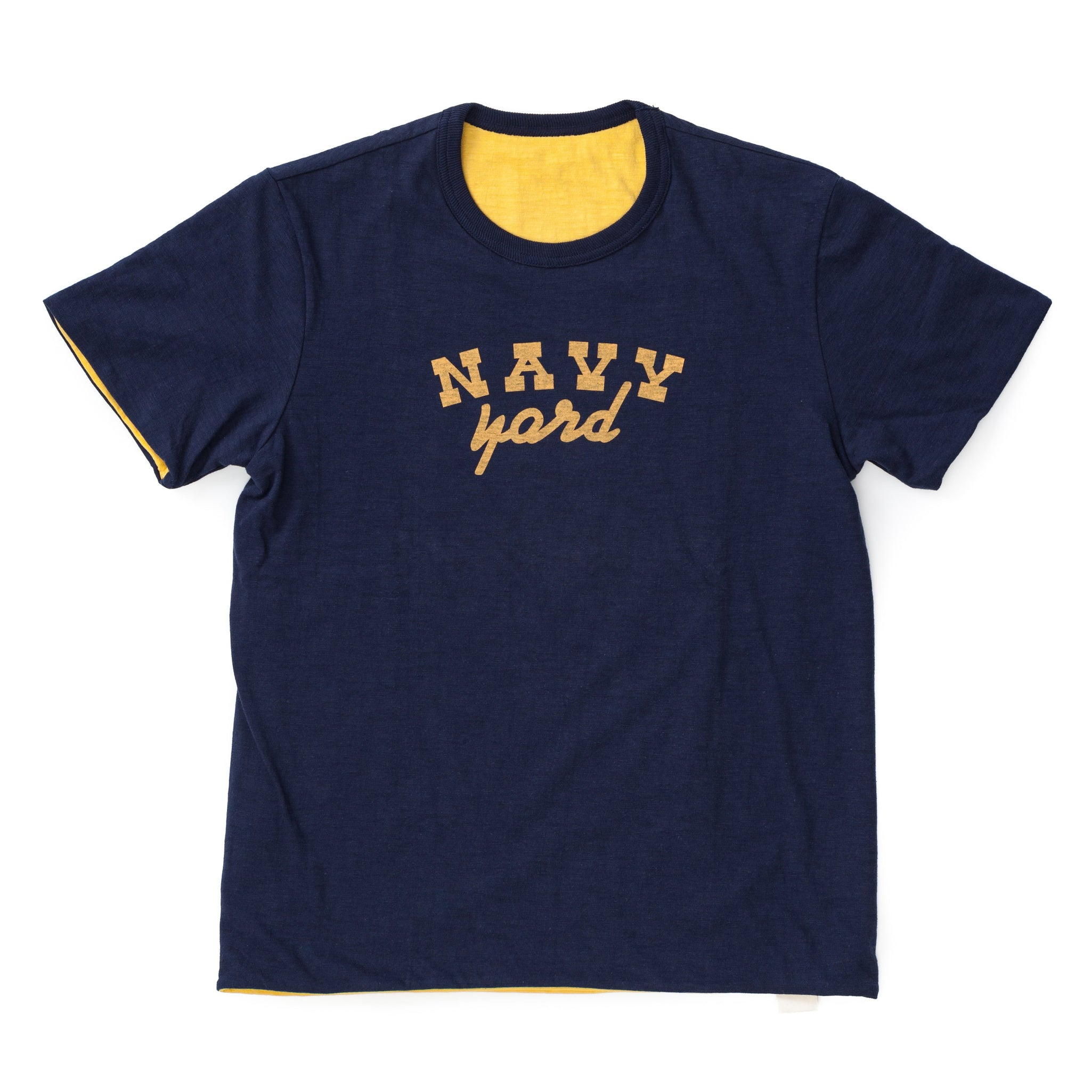 Reversible Tee / Navy Yard