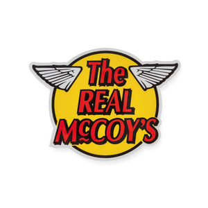 The Real McCoy's Wing Sticker