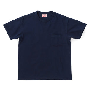 Pocket Tee / Hand Dyed Indigo