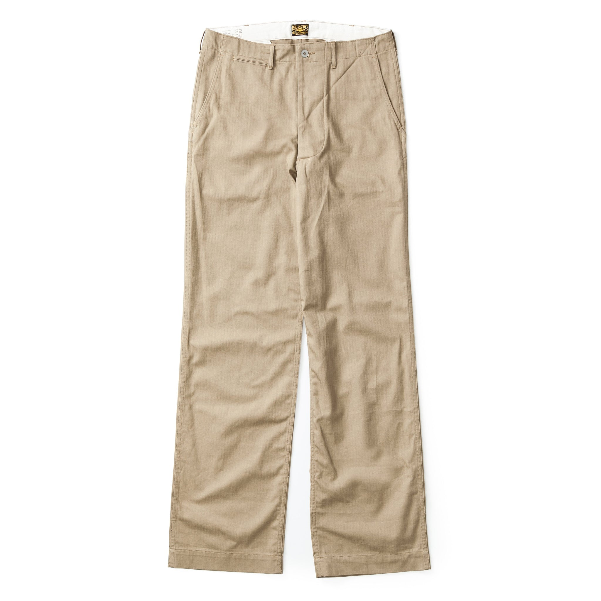 Civilian '41 Trousers (Khaki HBT)