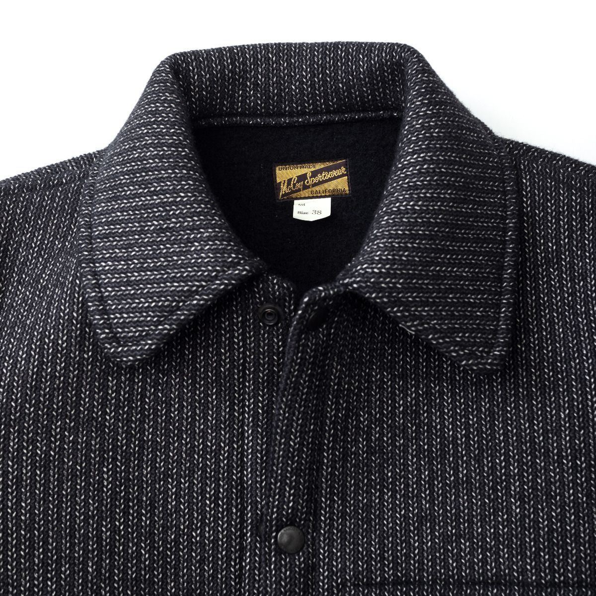 The Real McCoy's Wool Raschel Jacket