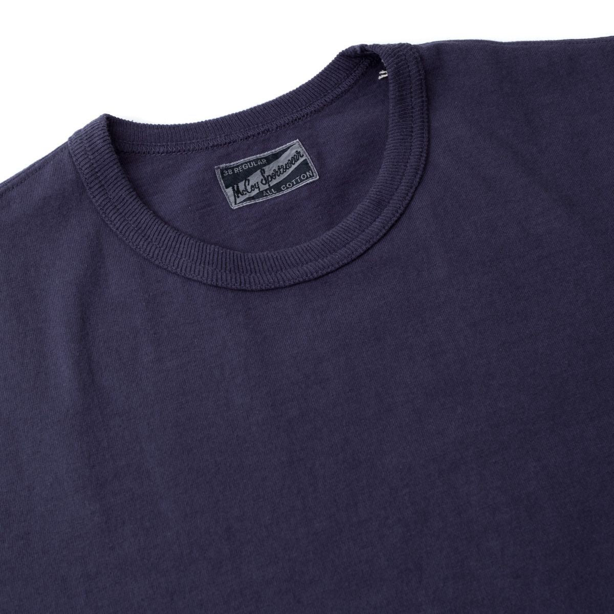 The Real McCoy's Joe McCoy Overdyed Tee Navy