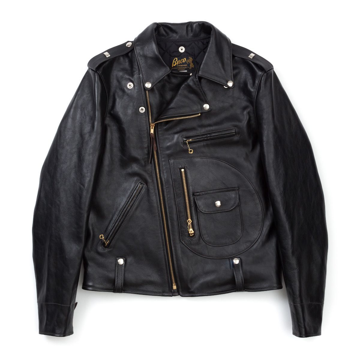 The Real McCoy's Buco J-24 Horsehide Leather Jacket