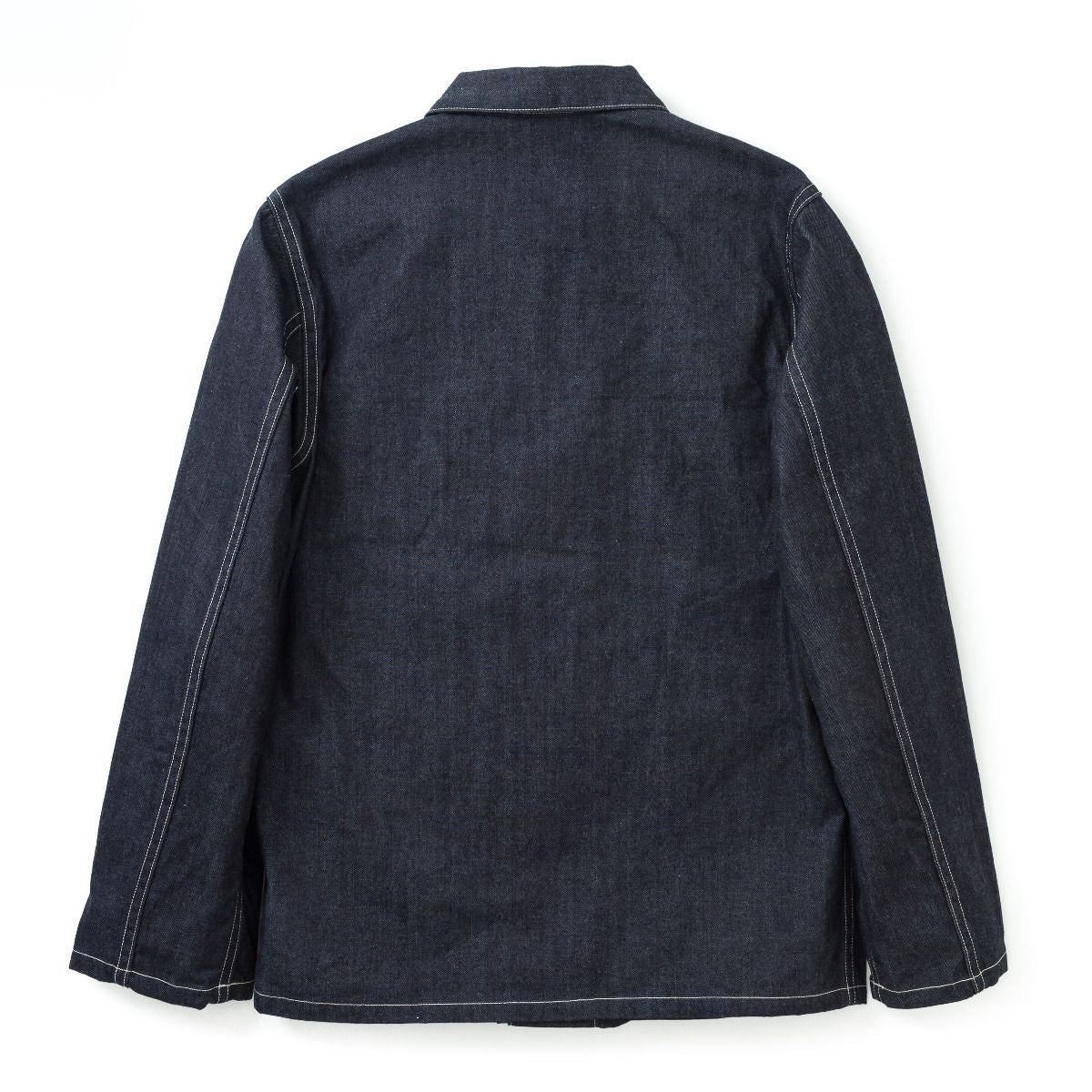 The Real McCoy's Work Coat Blue Denim