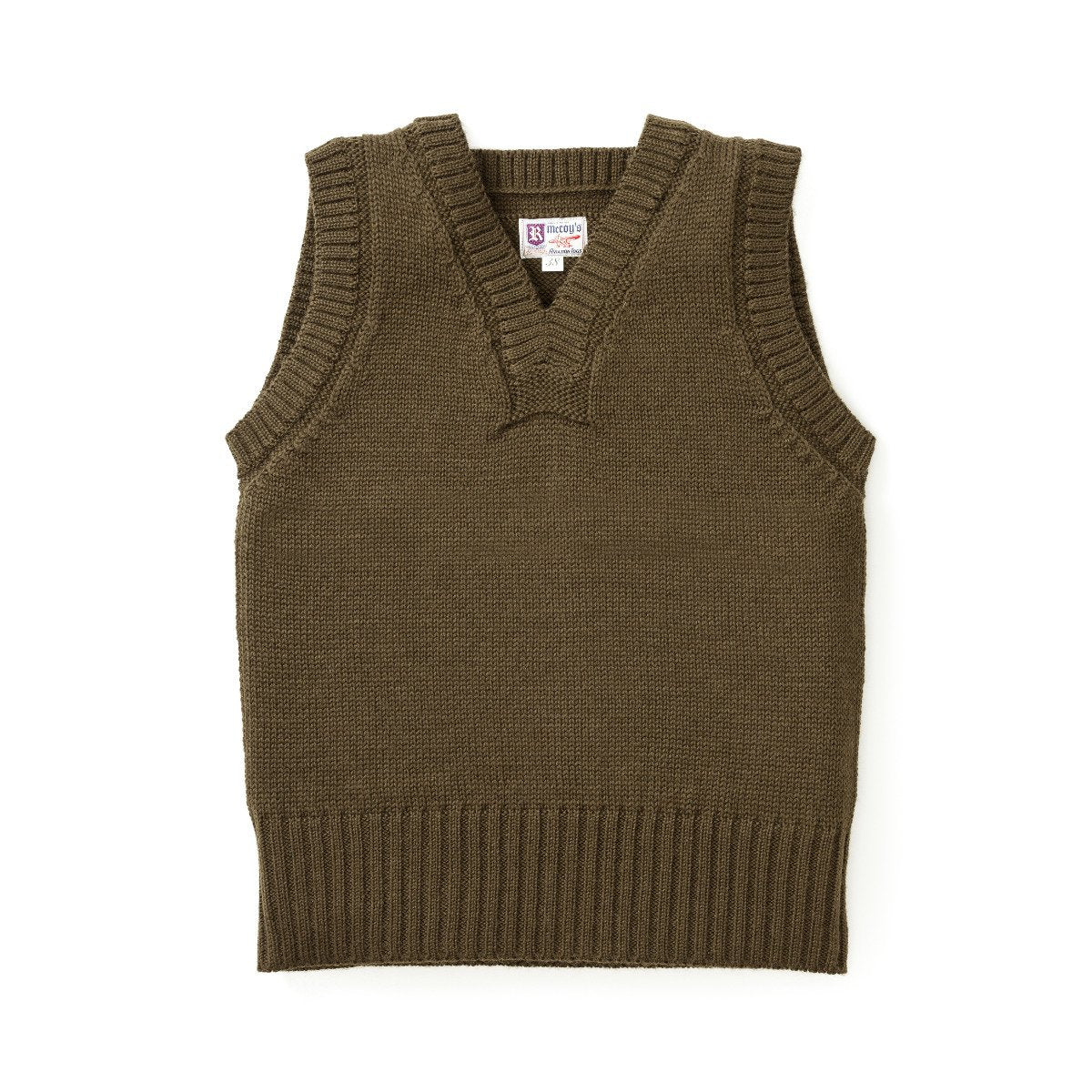 Sleeveless Wool Sweater