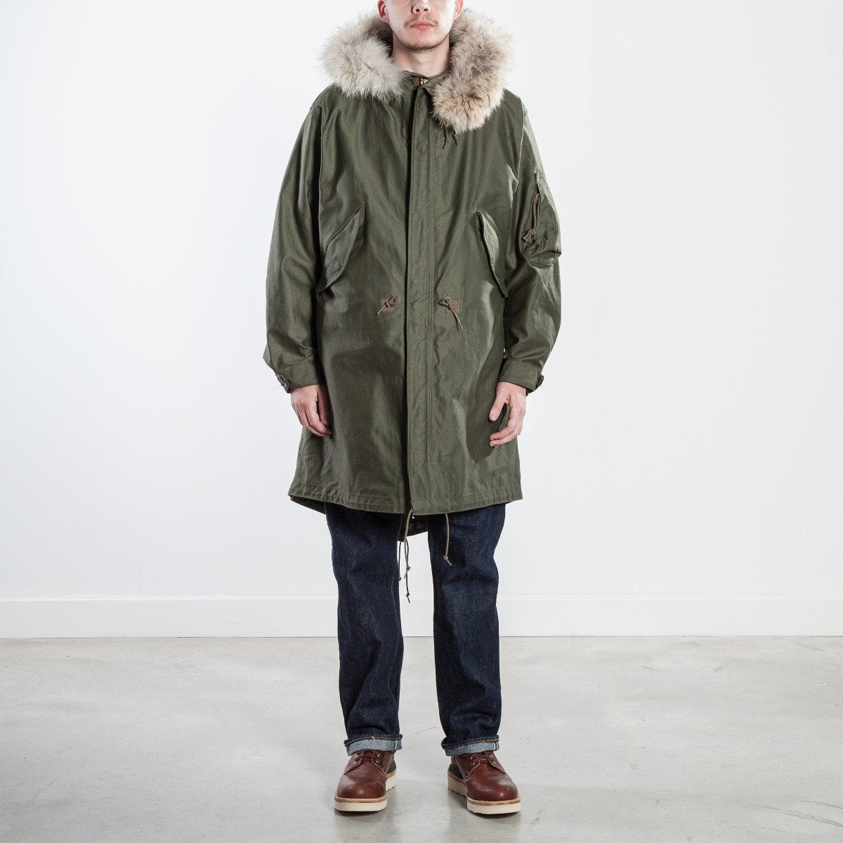 The Real McCoy's M-1948 Parka MJ18113-150