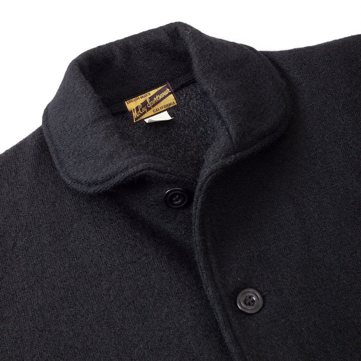 Joe McCoy Wool Shawl Collar Jacket / PLAIN MJ17129-PLAIN
