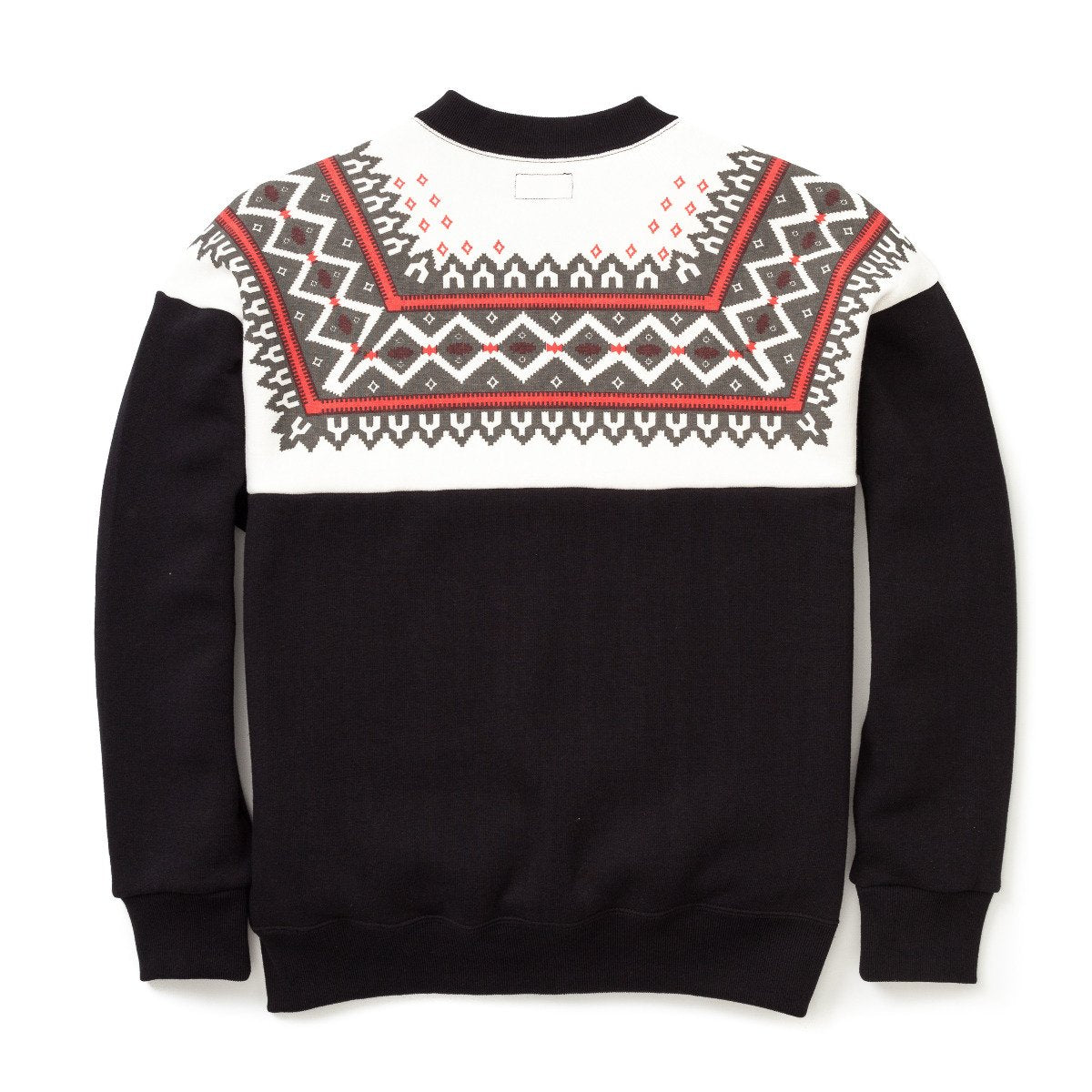 Snow Pattern Sweatshirt