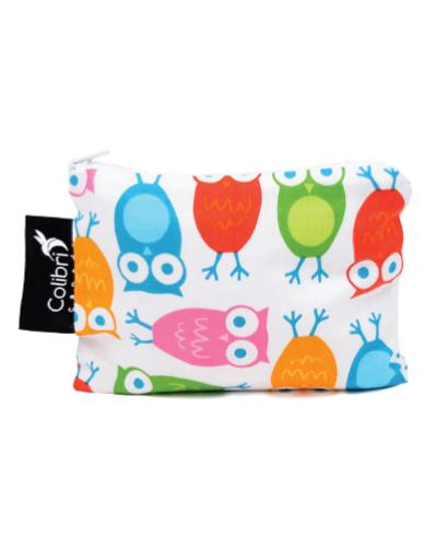 Pink Owl Snack Bag Small