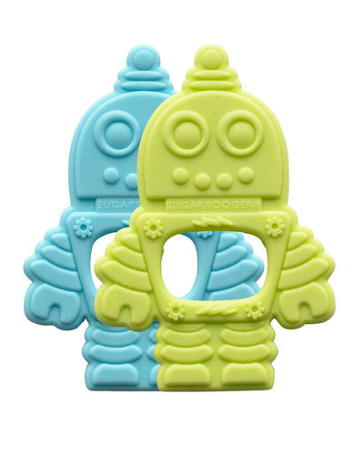 Retro Robot - Teethers 2pc
