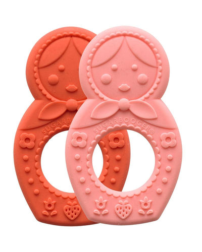 Matryoshka Doll - Teethers 2pc