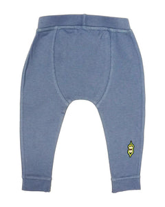 Baby Bean Pants - Storm Blue