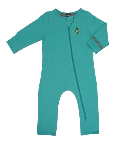 Bean Playsuit - Bright Aqua