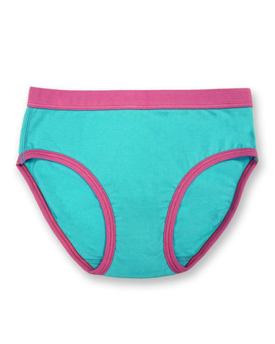 Underbeans Brief - Aqua Blue