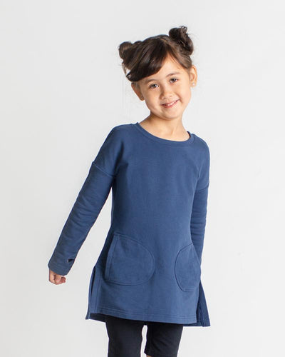 Little Miss Tunic - Navy