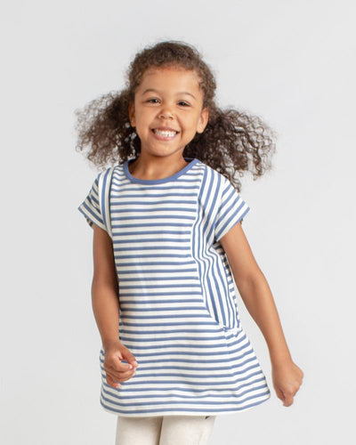 Live to Play Tunic - Storm Stripe