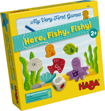 Here, Fishy, Fishy!  A First Fishing Game
