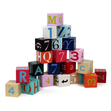 Kubix - 40 Letters + Numbers Blocks