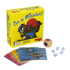 On a Mission! Card Game