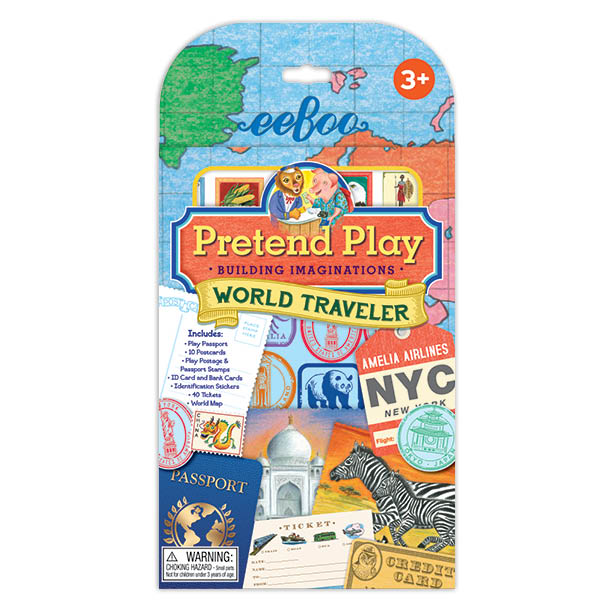 World Traveler Pretend Play Set