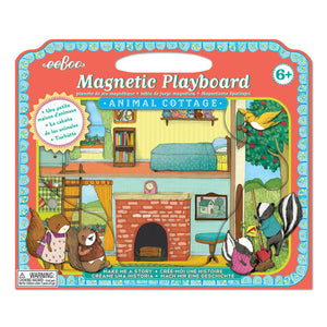 Animal Cottage Magnetic Playboard