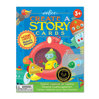 Robot's Mission Create A Story Cards