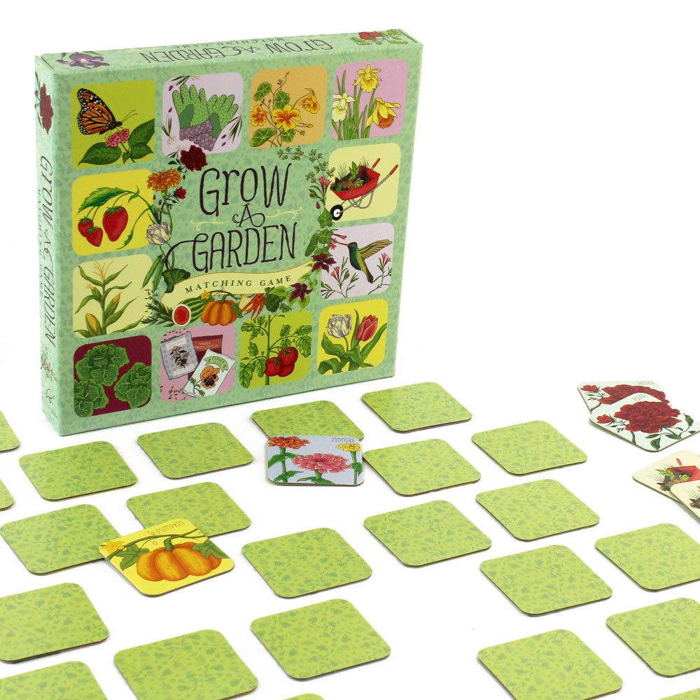 Grow a Garden Matching Game