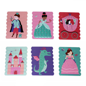 Enchanting Princess Puzzle Sticks