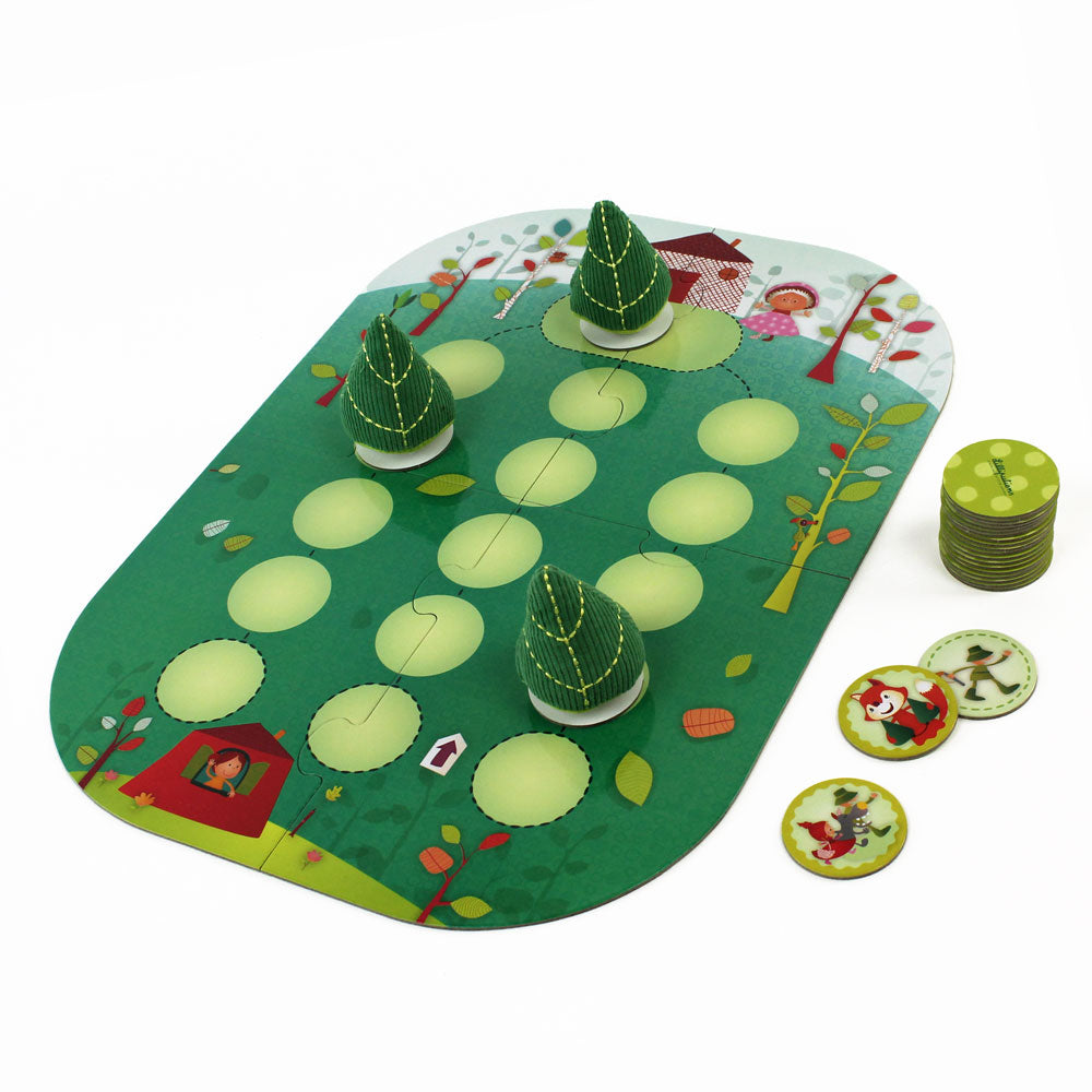 Whoohop Little Red Riding Hood Board Game