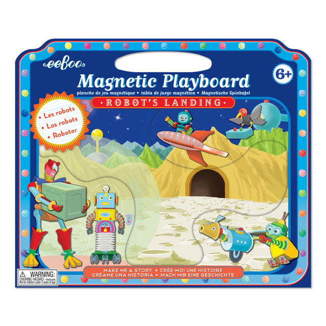 Robot's Landing Magnetic Playboard