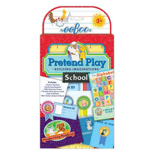 School Pretend Play Set