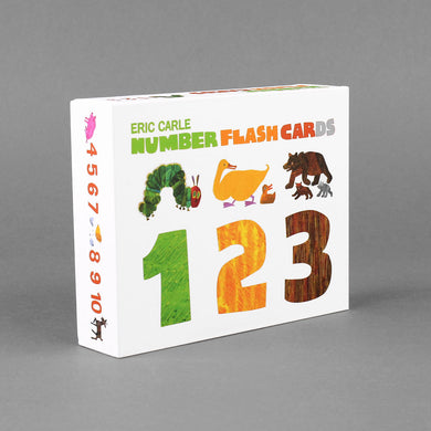 The World of Eric Carle Number Flash Cards