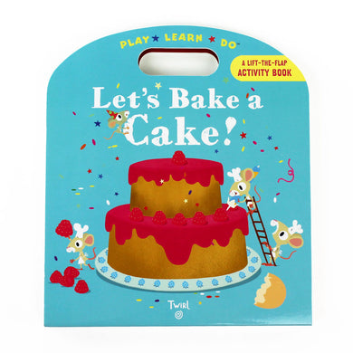 Let's Bake a Cake! Activity Book