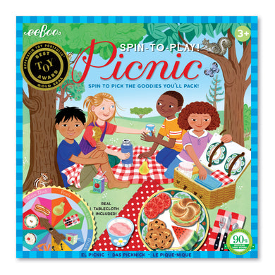 Spin to Play Picnic Game
