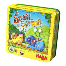 Load image into Gallery viewer, Snail Sprint! - A Magnetic Snail Racing Game